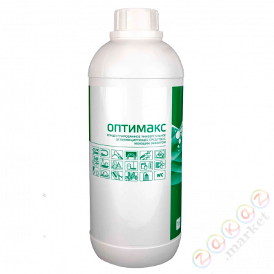 Optimaks concentrate 1х1000 1 liter of Antiseptics and disinfectants to purchase in Kaliningrad
