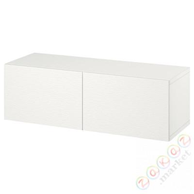 ⭐BESTÅ⭐Комбинация навесных шкафов, белый/Лаксвикен белый⭐ИКЕА-49439848